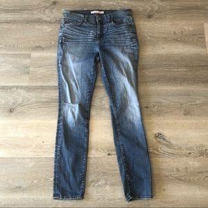 🆕 J Brand Distressed Skinny Leg Heritage Wash